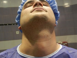 Head and neck tumor surgery